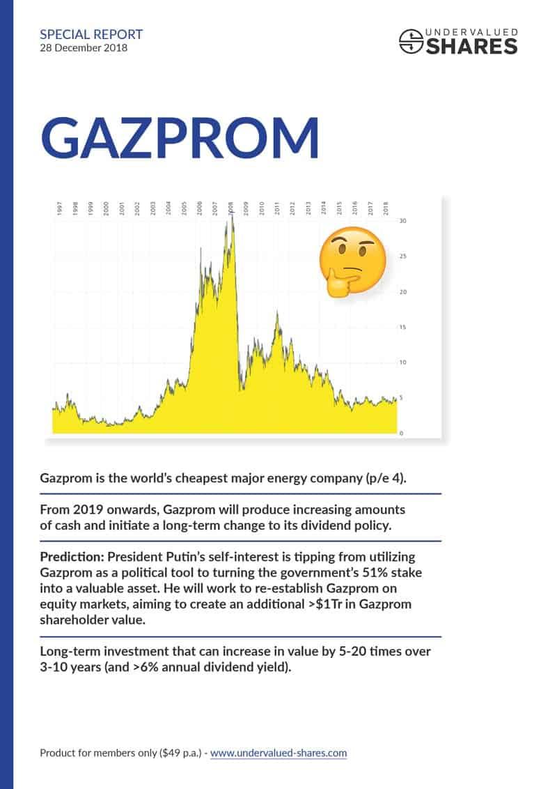 Gazprom report