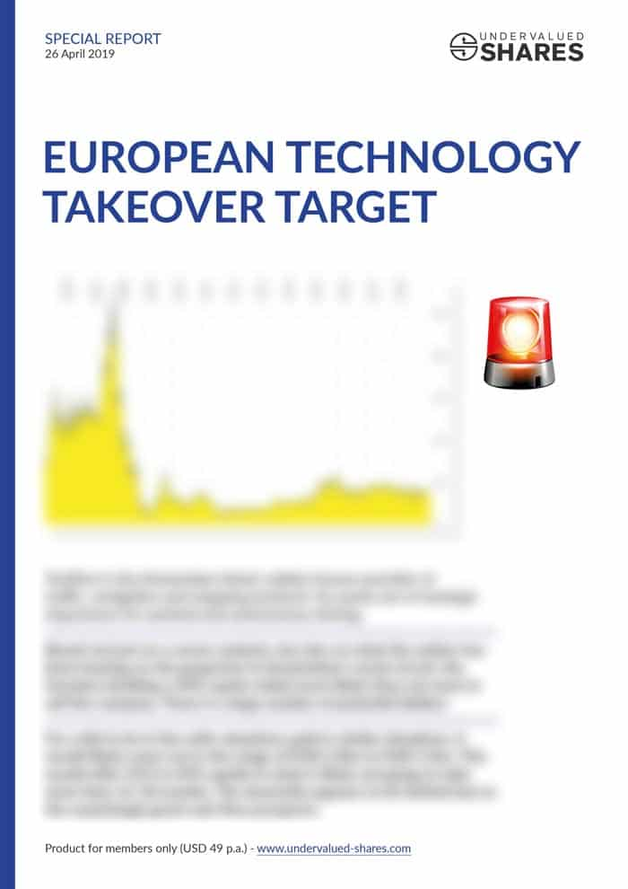 European Technology Takeover Target Cover
