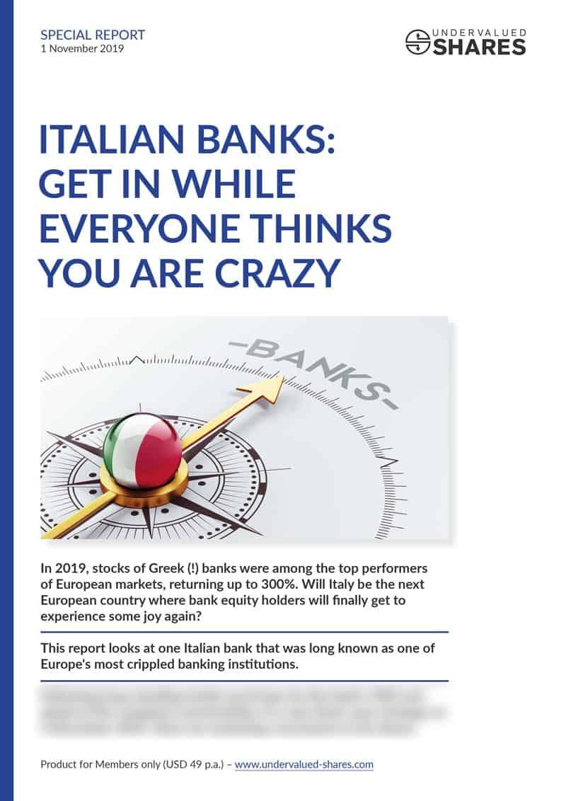Italian banks cover