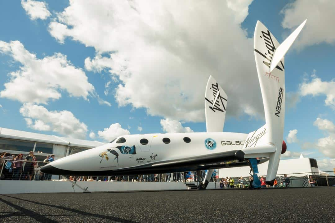 Virgin Galactic spacecraft