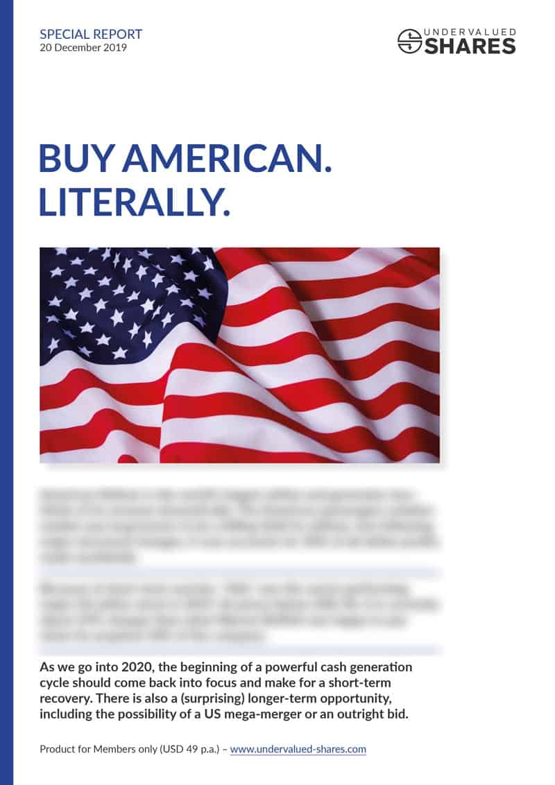 Buy American cover