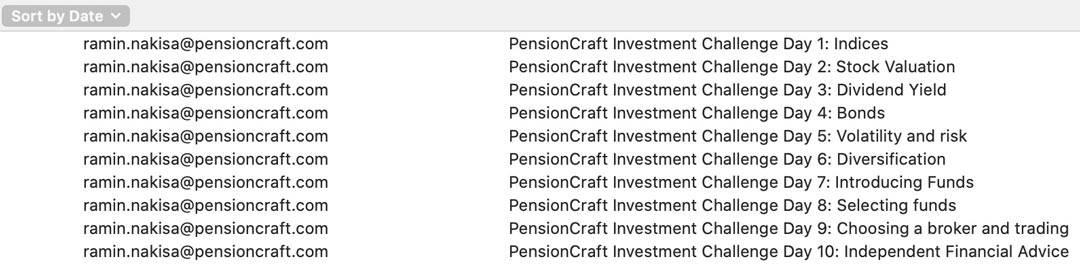 Pensioncraft newsletter