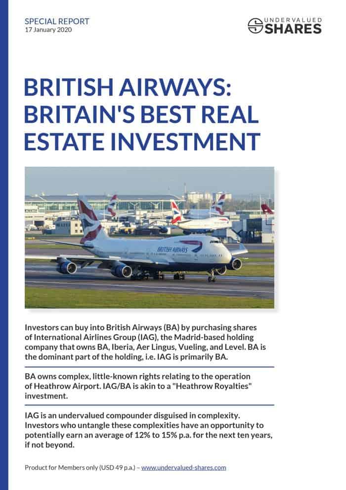 British Airways Special Report cover