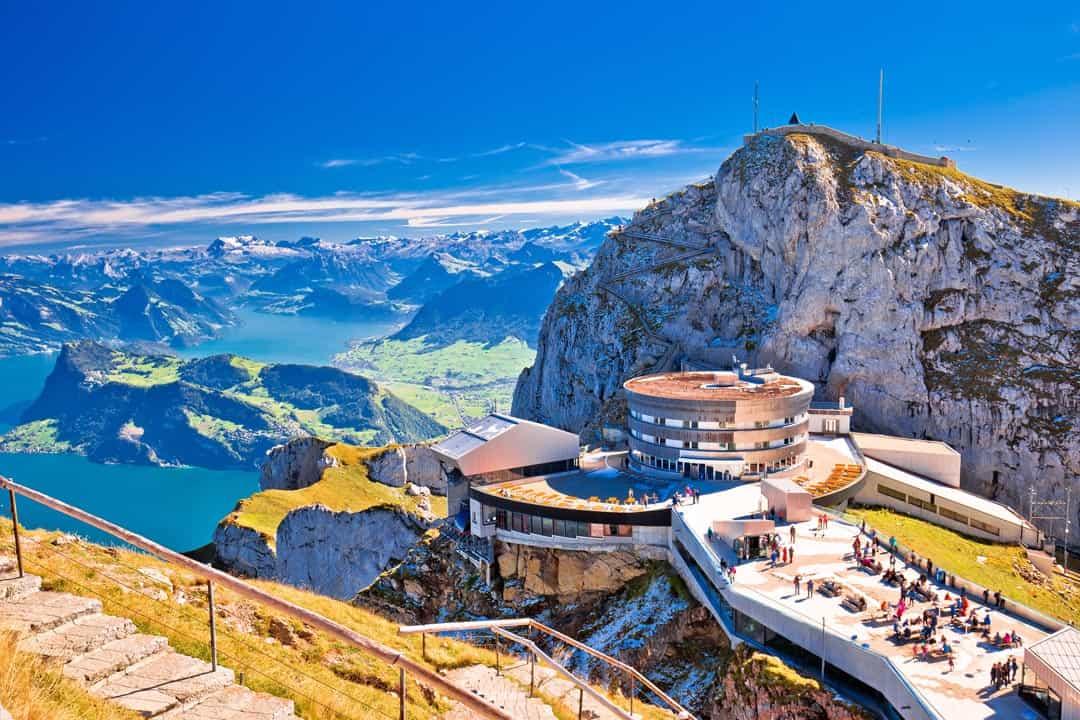 Swiss mountaintop facilities