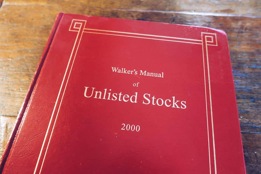 Walker's Manual of Unlisted Stocks