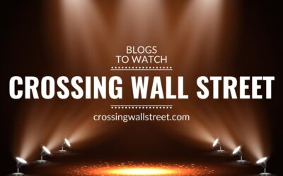 Blogs to watch (part 7): Crossing Wall Street
