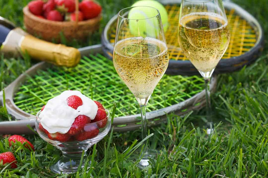 Wimbledon strawberries and champagne