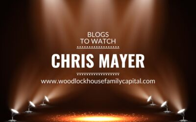 Blogs to watch (part 12): Chris Mayer