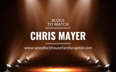 Blogs to watch (part 12): Chris Mayer