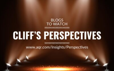 Blogs to watch (part 13): Cliff's Perspectives