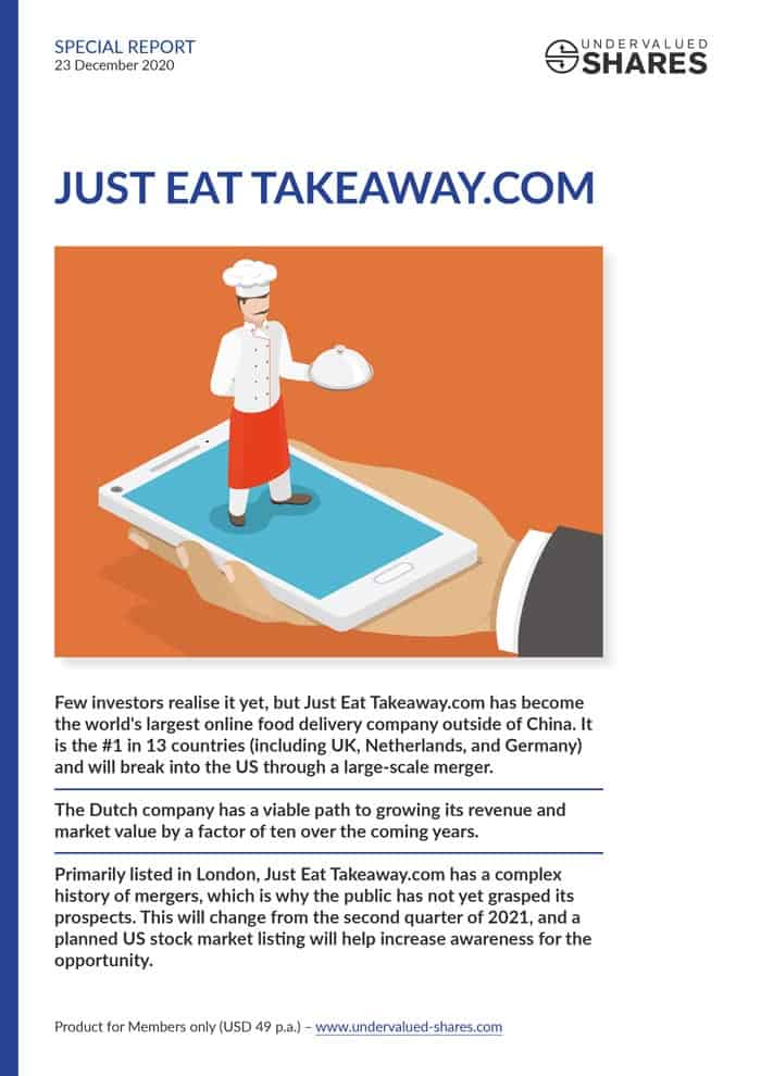Just Eat Takeaway.com cover