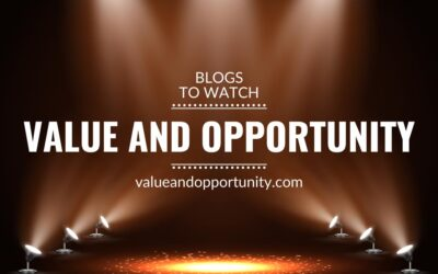 Blogs to watch (part 17): value and opportunity