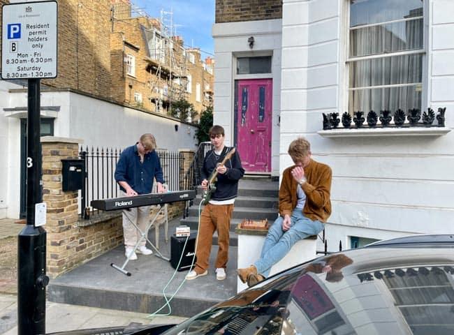 Street musicians London