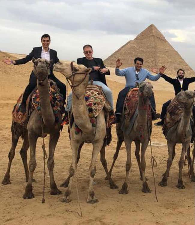 David and his colleagues take an Asian sovereign wealth fund to visit Fawry