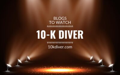 Blogs to watch (part 19): 10-K Diver