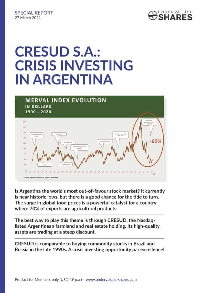 Cresud cover