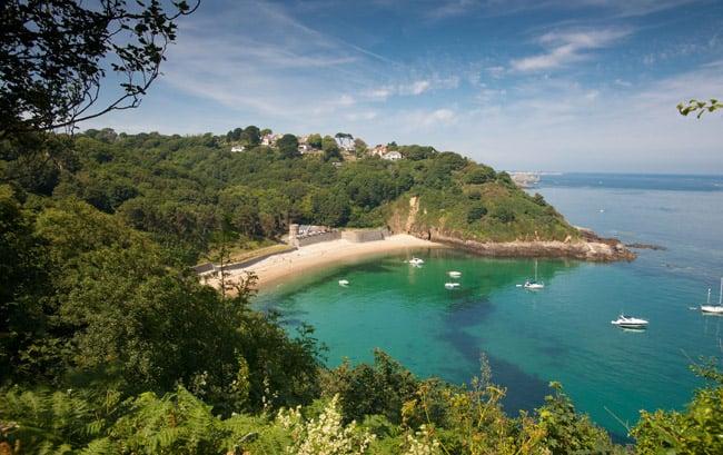 Guernsey beach