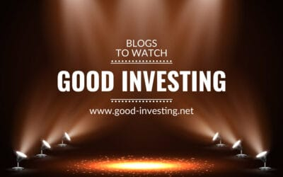 Blogs to watch (part 23): Good Investing